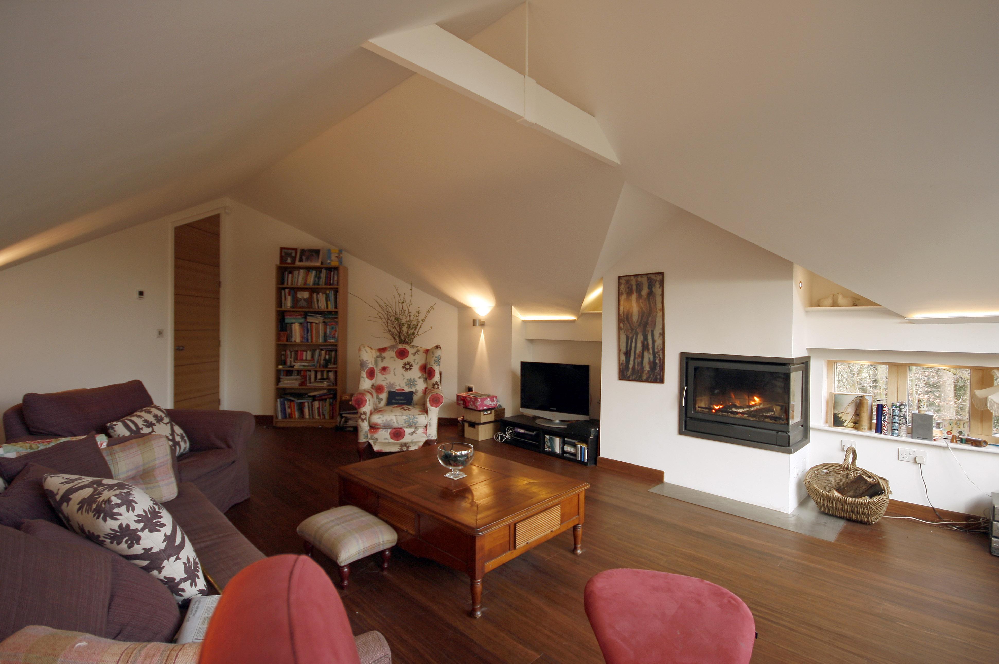 Internal Living Room Extension