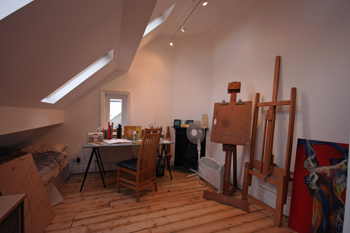 House in Didsbury, Manchester - Artist's studio space