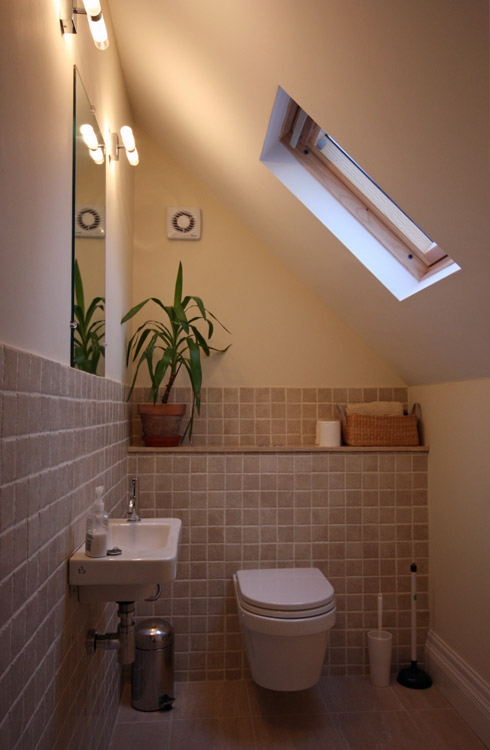 House in Didsbury, Manchester - Ensuite in former loft space