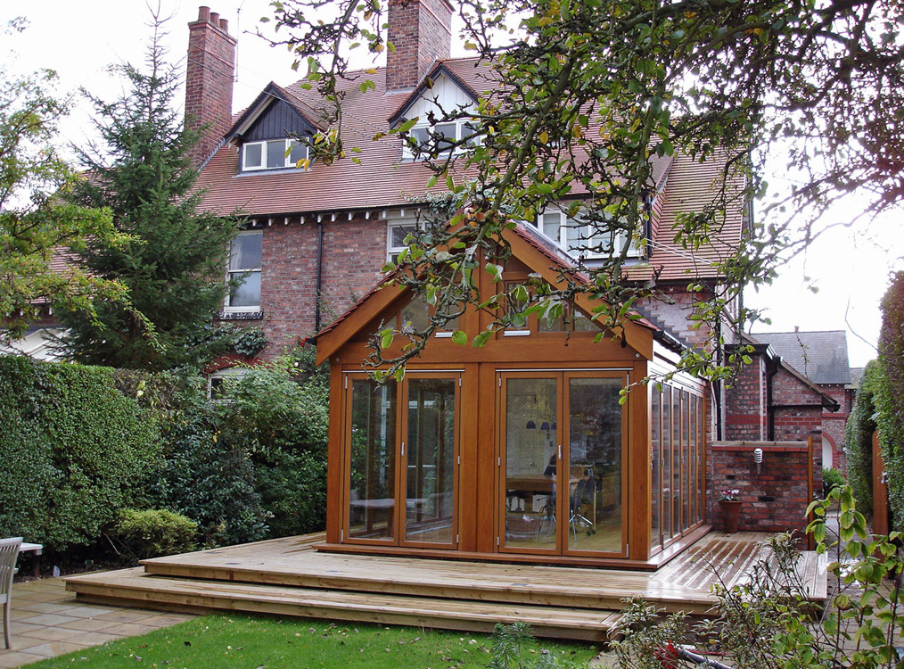 Glass Room in Wilmslow, Cheshire - Exterior