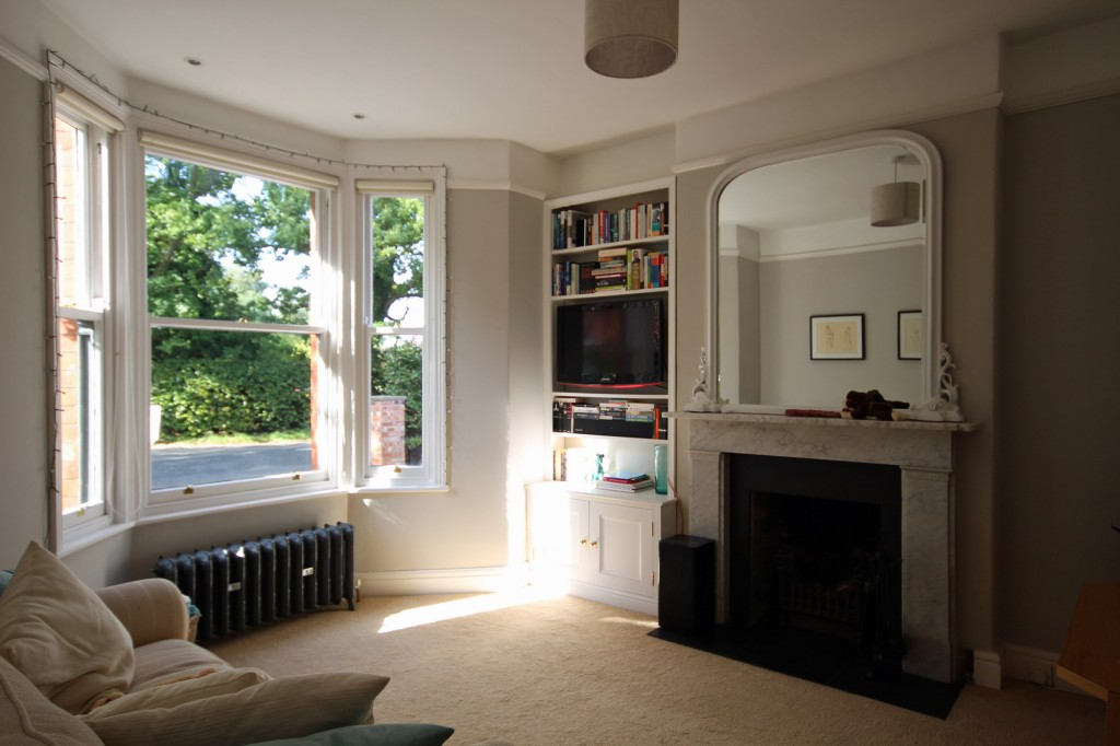 Interior view of living room
