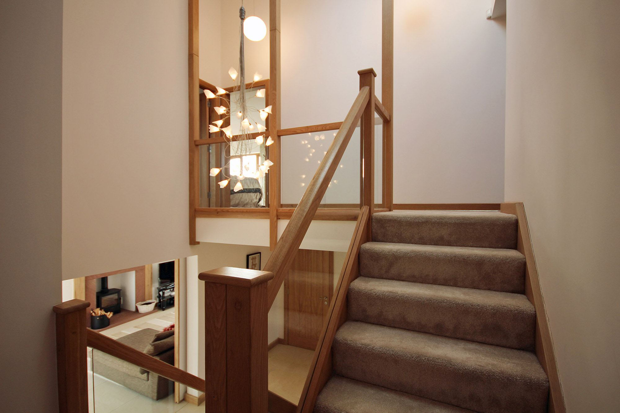 Stair of new house