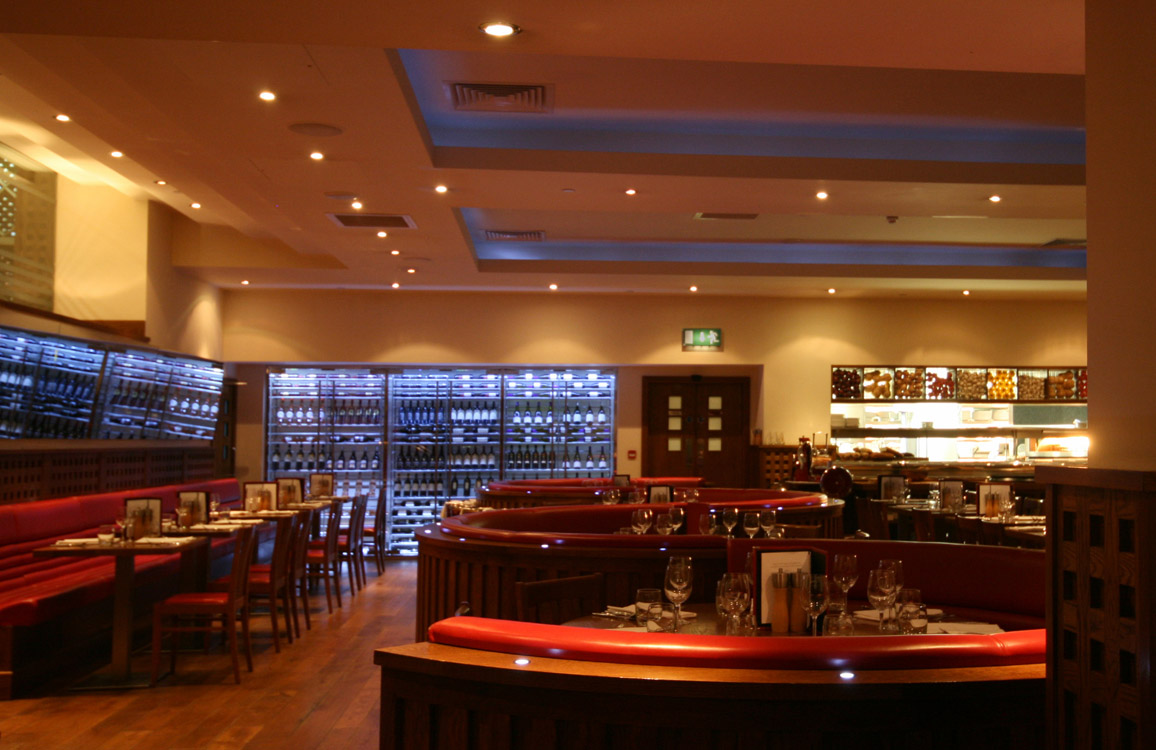 Piccolino Broadgate, London - Interior