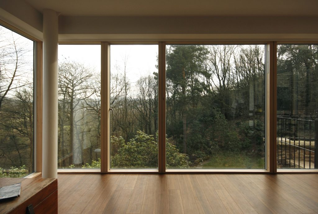 Sanders House Kitchen window